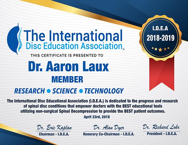 Dr. Laux | Spinal Decompression San Ramon